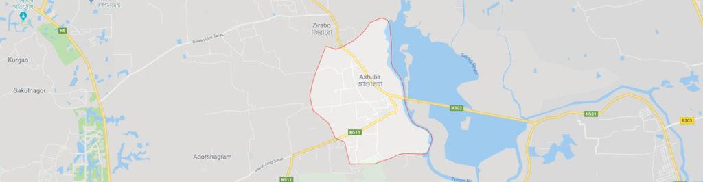 Ashulia postal code
