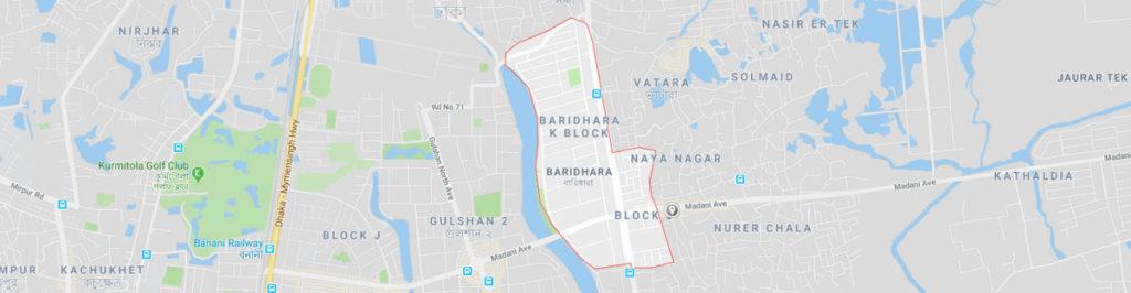 Baridhara postal code