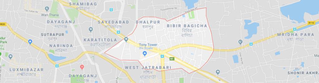 Dhaka Jatrabari postal code