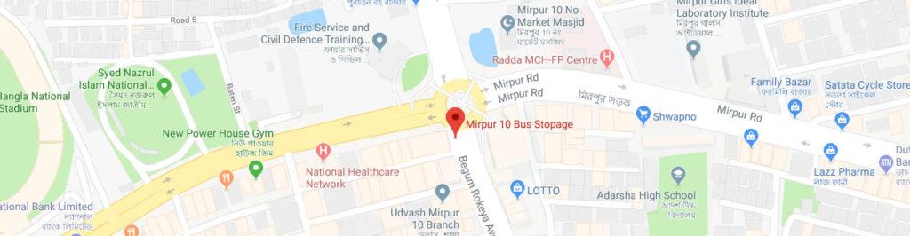 Mirpur 10 postal code