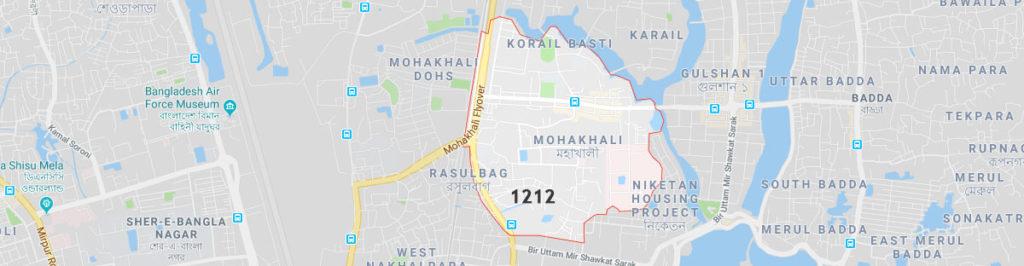 Mohakhali postal code